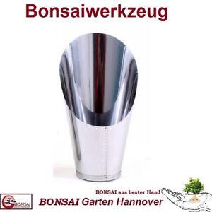 BONSAI - Erdschaufel - Edelstahl 3,4 - 5 cm (Durchmeser) Höhe 17 cm