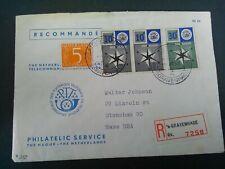 Nederland 700/701 op brief Phil Service naar Stoncham USA