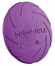 """Dog Activity Natural Rubber Frisbee Dog Toy Fetch Catch Floating Disc 22cm 8.5"""""""
