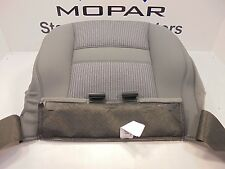 07-08 Dodge Ram 1500 New Driver's Seat Cushion Bottom Cover Gray Mopar OEM