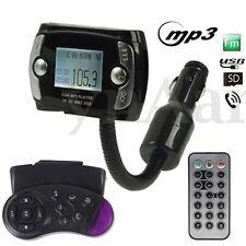 Car Kit Handsfree Wireless Bluetooth FM Transmitter MP3 Player USB SD LCD Remote