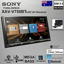 "SONY XAV-V750BT Double Din 6.95"" USB MP3 FREE Reverse Camera Car Stereo Player"