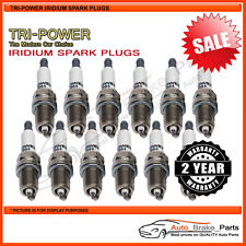 Iridium Spark Plugs for AUDI A8L D3 Series 4E Quattro 6.0L - TPX013
