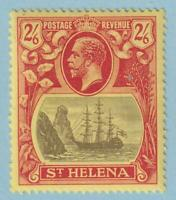 ST HELENA 90  MINT LIGHTLY HINGED OG * NO FAULTS EXTRA FINE !