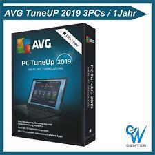 AVG Pc TuneUp Utilities 2019 3 PC 1 Jahr Vollversion Upgrade 2020 Tune Up ESD