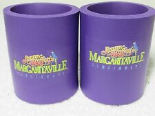 2X Jimmy Buffett Margaritaville Can Coozie Koozies Cincinnati Purple