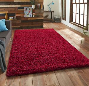 Thick Shaggy Large Rugs Hallway Rug Runner Non Slip Living Room Carpet Deep Pile