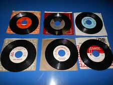60's Records 45 RPM ARETHA FRANKLIN Lot Of 6 records / 4 DJ NOT FOR SALE PROMO