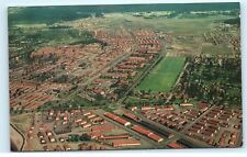 *Aerial View Fort Lewis Washington Old Vintage Postcard A29