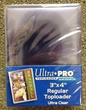 """Ultra Pro 3"""" x 4"""" Regular Toploader - Pack of 25"""