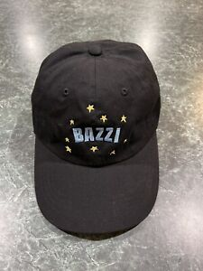 Bazzi R&B Singer Black Embroidered Strapback Dad Hat