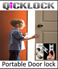 Qicklock - Portable Travel Door Lock,Safety, Privacy & Personal Security-