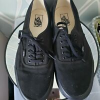 Vans Mens Black Classic Casual Shoes Size 12