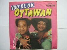 OTTAWAN 45 TOURS GERMANY YOU'RE OK