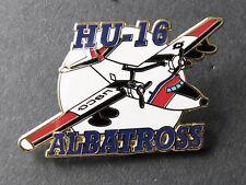 ALBATROSS HU-16 GRUMMAN USCG COAST GUARD AIRCRAFT LAPEL PIN BADGE 1.5 INCHES
