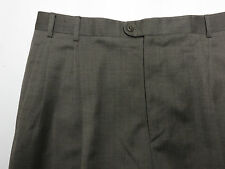 ZANELLA Pants - 36 x 31 - Brown - Jesse Model - 100% Wool - Made in Italy $395