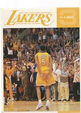 "LOS ANGELES LAKERS 2002-03 YEARBOOK ""3 IN A ROW"""