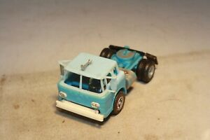 1960s Ford C600 COE Tractor-Trailer Revell Made in USA HO Scale