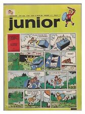JUNIOR  1973 N°  28 12/07/1973 BE/BE+ les rois des aerostiers