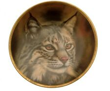 Lenox Big Cat of the World Bobcat Plate GB68