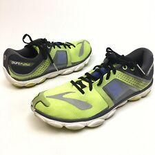 Brooks Pure Flow 4 Men's Yellow Running Athletic Shoes Sneakers 10.5 Eu 44.5 (9