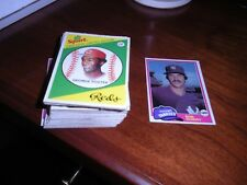 1981 TOPPS BASEBALL CARDS...pick 10 to complete a set