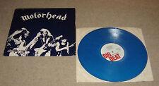 """Motorhead Beer Drinkers & Hell Raisers Blue Vinyl 12"""" Single Porky Prime Cut EX"""