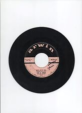 "JAN & ARNIE 7"" STOCK 45rpm 1958 SINGLE ARWIN #MM108 JENNIE LEE POP ROCK"