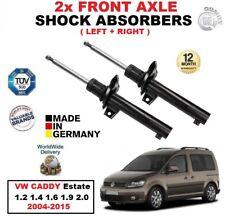 AVANT DROITE GAUCHE Amortisseurs pour VW CADDY Break 1.2 1.4 1.6 1.9 2.0 2004-15