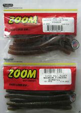 ZOOM Magnum Finesse Worm #114-005 JUNEBUG 10cnt 2 PCKS