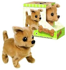 Chi Chi Dog Chihuahua Plush Stuffed Animal Barking Walking Wagging Christmas Toy