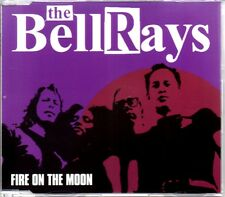 THE BELLRAYS - FIRE ON THE MOON - 2002 4 TRACK CD SINGLE - MINT