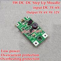 DC-DC Boost Step Up Voltage Converter 5V 6V 9V 12V Mini PCB Power Supply Module