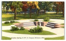 Mid-1900s Sulphur Spring, Ohio Wesleyan University, Delaware, Oh Postcard