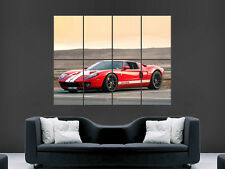 FORD GT CAR POSTER RETRO SPEED RACING SPORT ART WALL LARGE IMAGE GIANT