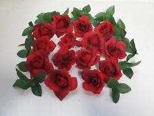 Dekoration Rosenblüten rot Rosen künstlich Streudeko Blüten Floristik Basteln