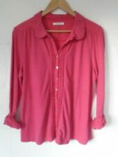 White Stuff pink cotton top size 16