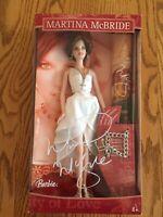 BARBIE DOLL MARTINA McBRIDE COLLECTOR Poster And Keepsake Bracelet NIB