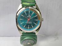 Vintage Nino Mens Analog Dial Mechanical Handwinding Movement Wrist Watch VG99