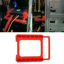 "2.5""SSD/Hard Drive to 3.5"" Drive Bay Adapter Mounting Converter Tray Bracke S0Q1"