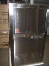 New Eros SC25 Ice Machine - Stainless Steel