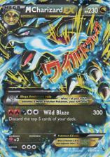 Pokemon Card: Mega M CHARIZARD EX 69/106 XY Flashfire Holo Ultra Rare NM