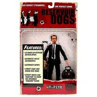 Reservoir Dogs Mr Pink Action Figure by Mezco Toys NIB Steve Buscemi 2001