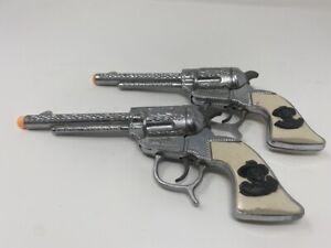 1950's Wyandotte Hopalong Cassidy Cap Guns (2 cap guns)