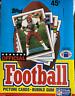 1989 Topps Football Box - FACTORY CASE - 36 Sealed Packs - HOF ROOKIES PSA