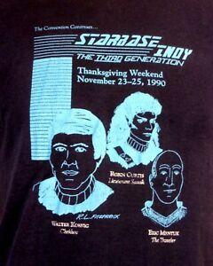 vintage 80s 90s thin Star Trek Convention T-Shirt 1990 Chekhov Walter Koenig M