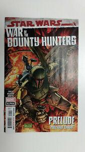 STAR WARS WAR OF THE BOUNTY HUNTERS ALPHA #1  1st Printing  / 2021 Marvel Comics