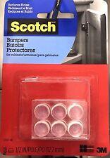 3M SCOTCH RUBBER ADHESIVE DOOR CABINET BUMPERS SELF STICK KITCHEN CUPBOARD DIY