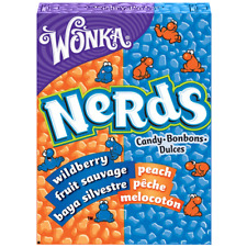 Wonka Sour Nerds Wildberry and Peach (box of 24) - American Candy