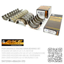 RACE MAIN/CONROD BEARINGS STD SIZE V8 GEN III LS1 5.7L HOLDEN WH-WK-WL STATESMAN